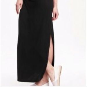 Old Navy Maxi Skirt with Side Slit
